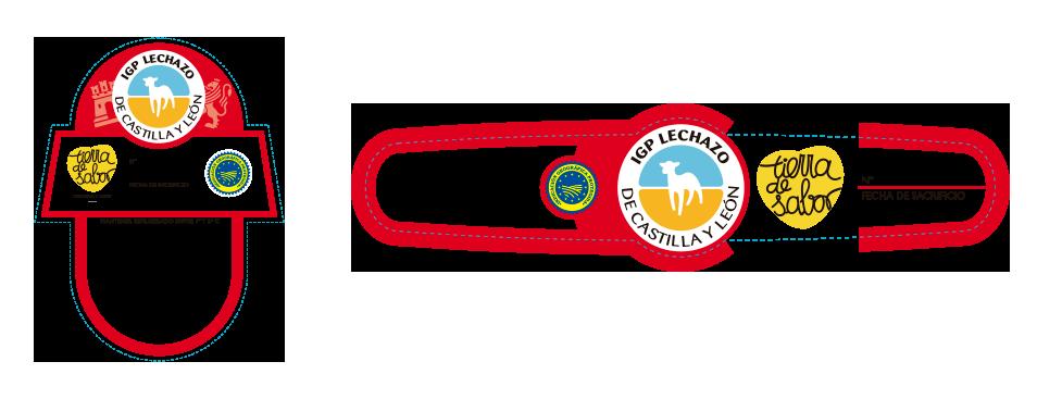 Etiqueta y Vitola IGP Lechazo de Castilla y León