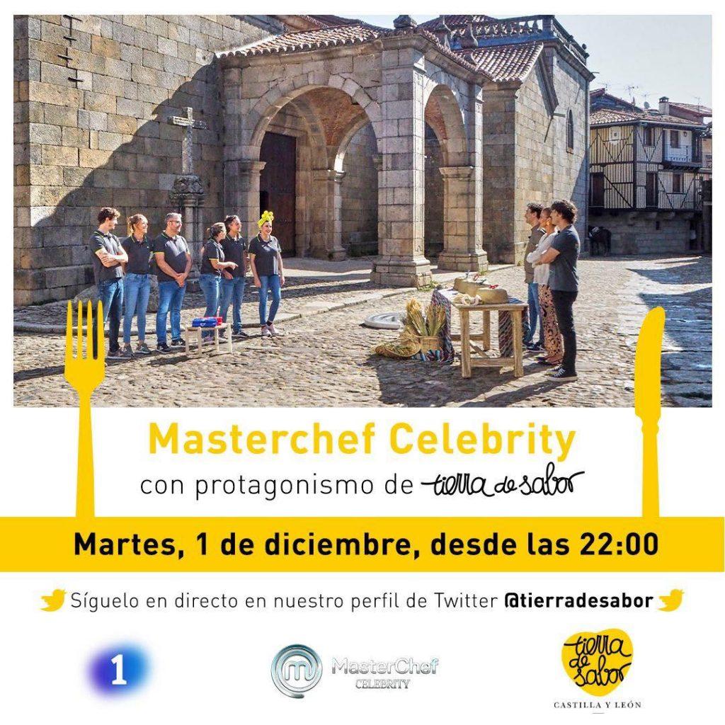 IGP Lechazo de Castilla y León estará en la semifinal de Masterchef Celebrity